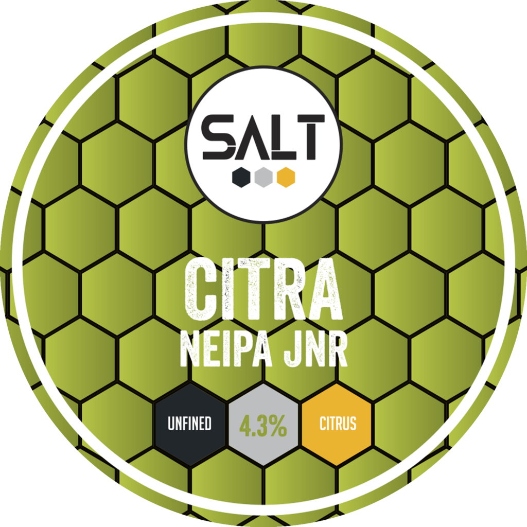Citra - Salt Beer Factory - NEIPA Jnr, 4.3%, 440ml Can