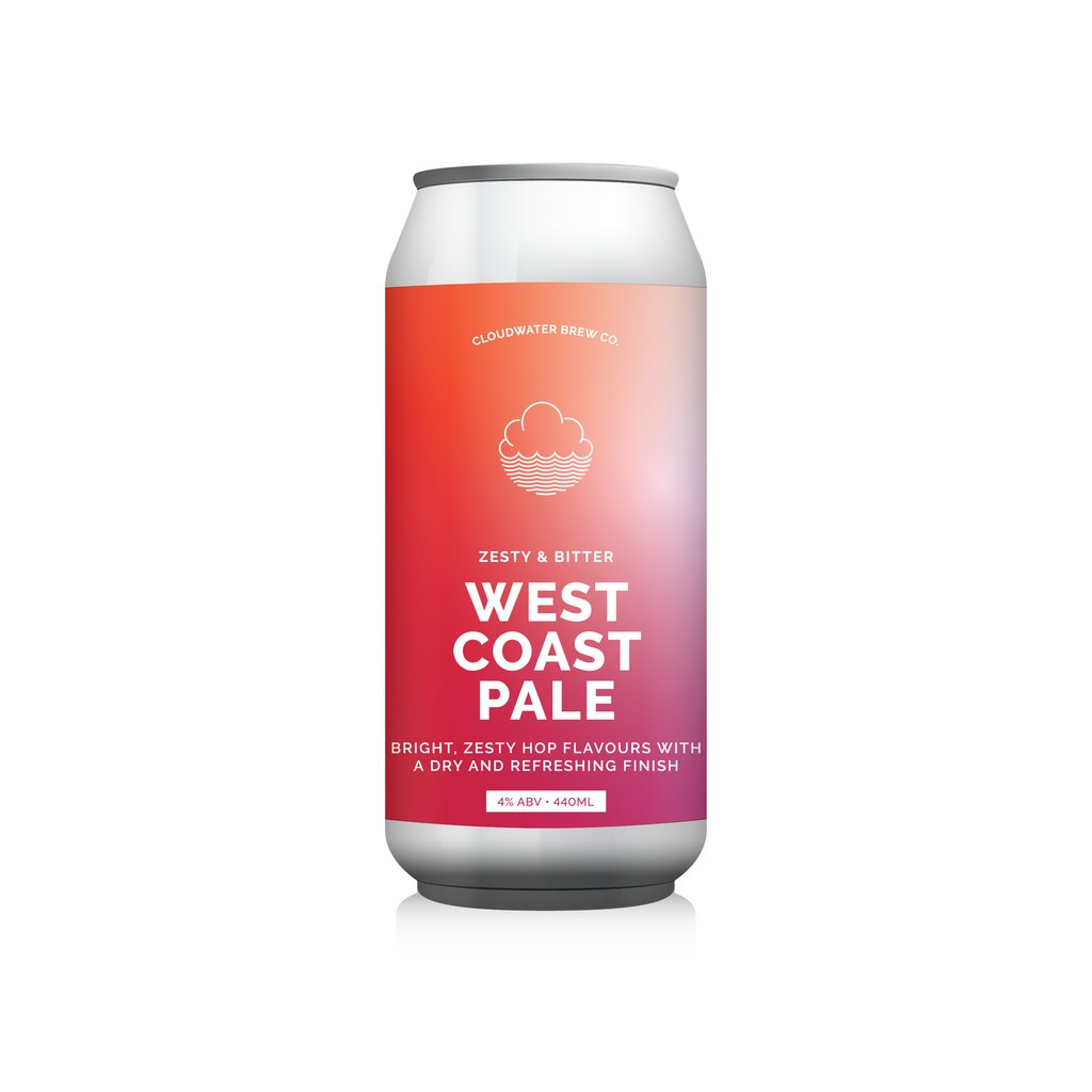 West Coast Pale - Cloudwater - West Coast Pale, 4%, 440ml Can