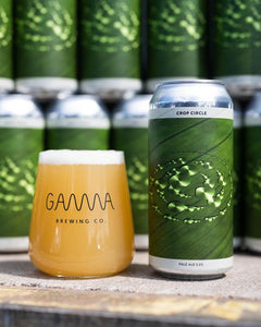 Crop Circle - Gamma Brewing Co - Pale Ale, 5%, 440ml Can
