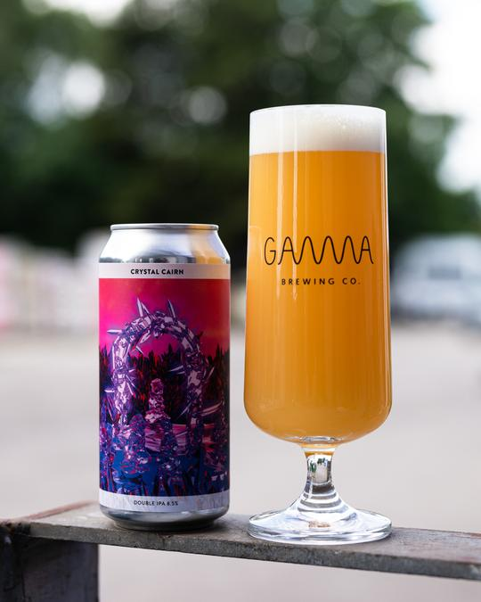 Crystal Cairn - Gamma Brewing Co - DIPA, 8.5%, 440ml Can