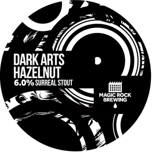 Dark Arts Hazelnut - Magic Rock Brewing - Chocolate, Hazelnut & Vanilla Surreal Stout, 6%, 330ml