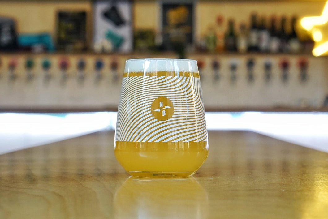 North Brewing Co - Triple Fruited Gose Glass - Glassware