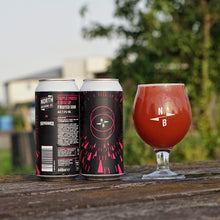 Load image into Gallery viewer, Triple Fruited X Rise Up Fruited Sour - North Brewing Co X Naparbier - Peach & Cherry Sour, 7%, 440ml Can