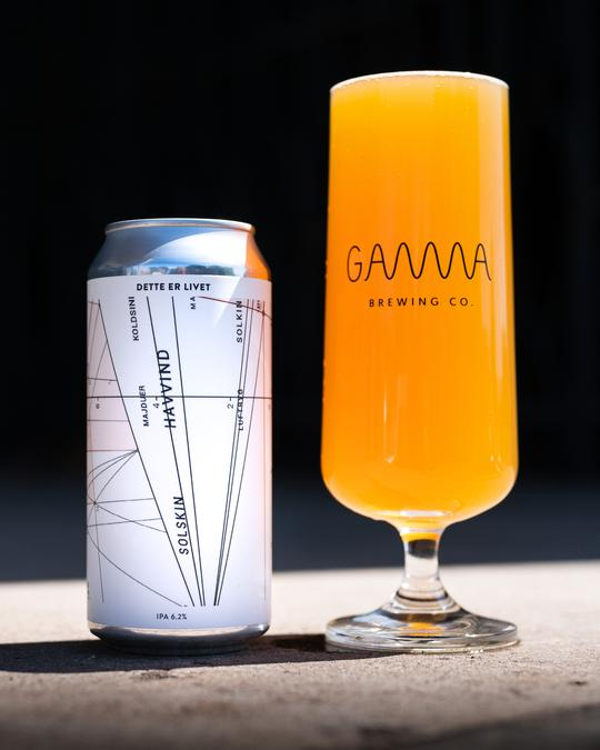 Dette er Livet - Gamma Brewing Co - IPA, 6.2%, 440ml Can