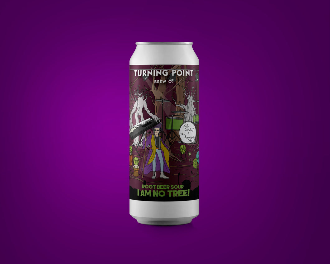 I Am No Tree! - Turning Point Brew Co - Root Beer Sour, 6.9%, 440ml