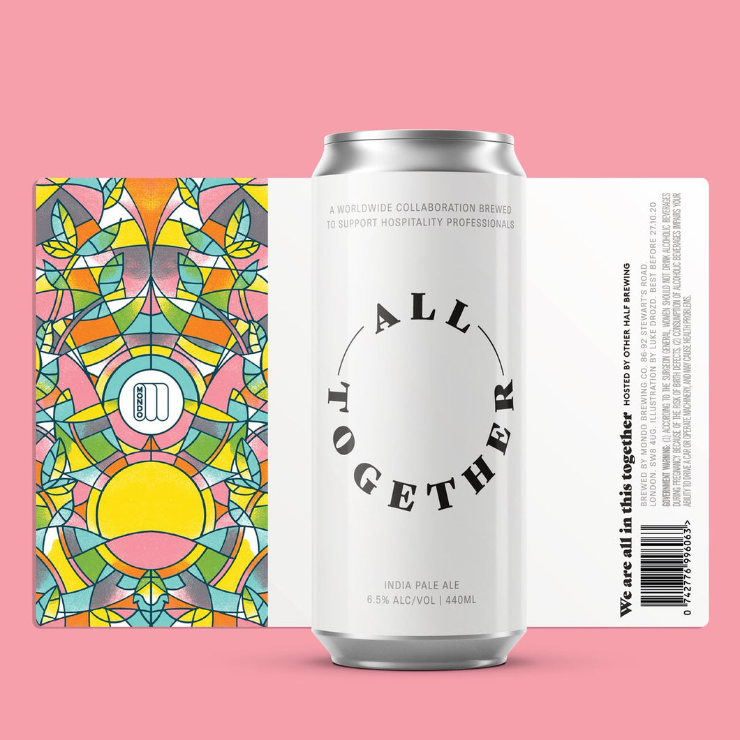 All Together - Mondo Brewing X Other Half - IPA, 6.5%, 440ml Can