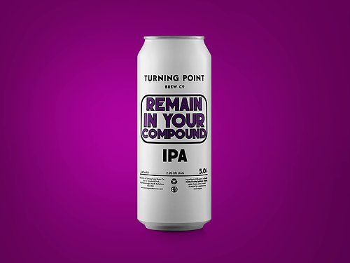 Remain In Your Compound - Turning Point Brew Co - IPA, 5%, 440ml Can