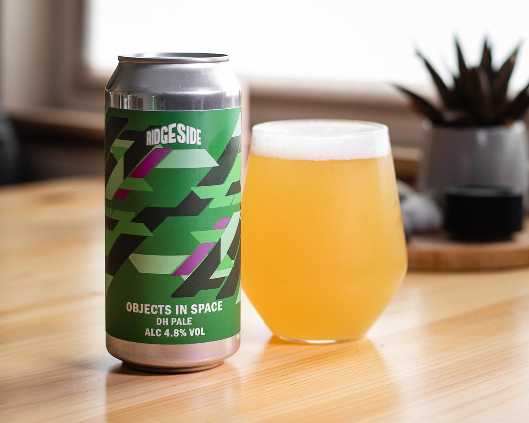 Objects In Space - Ridgeside Brewery - Pale Ale, 4.8%, 440ml Can