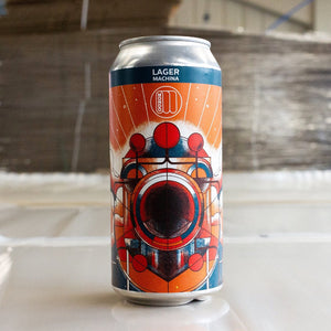 Machina - Mondo Brewing - Lager, 4.1%, 440ml Can