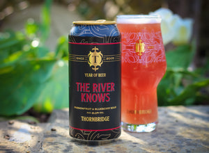 The River Knows - Thornbridge Brewery - Passionfruit & Blueberry Sour, 6%, 440ml Can