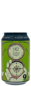 East 2020 - Brouwerij Frontaal - New England Session IPA, 4.3%, 330ml Can