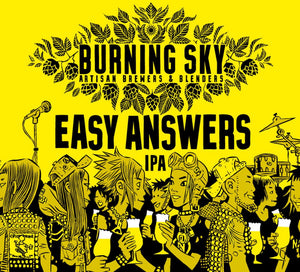 Easy Answers - Burning Sky - IPA, 6%, 440ml Can
