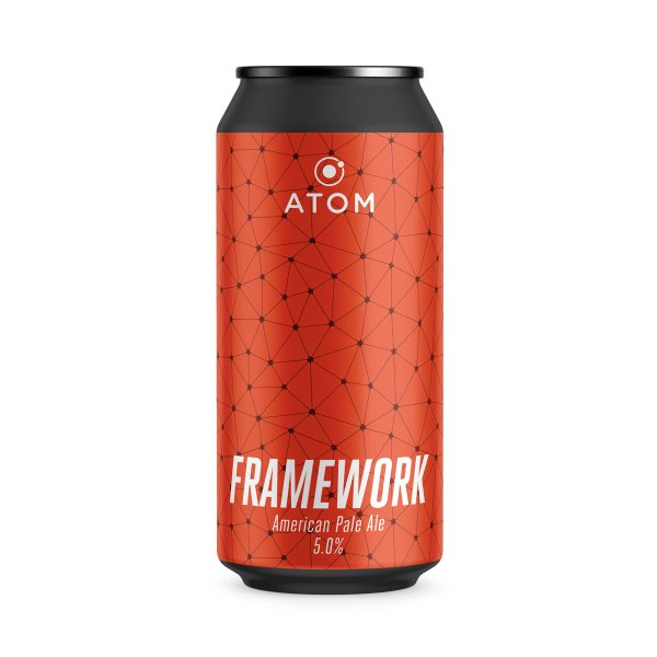 Framework - Atom Brewing Co - Pale Ale, 5%, 440ml Can