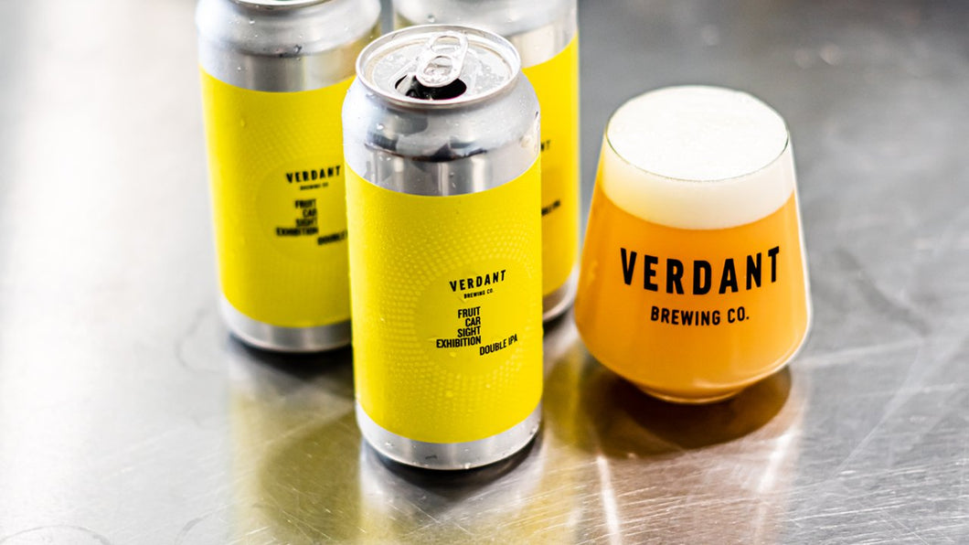 Fruit Car Sight Exhibition - Verdant Brewing Co - DIPA, 8%, 440ml Can