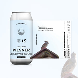 Our Highs, Their Lows - Cloudwater - Pilsner, 5%, 440ml Can