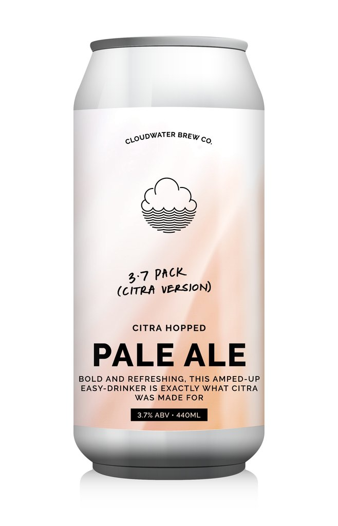 3.7 Pack - Cloudwater - Citra Pale Ale, 3.7%, 440ml Can