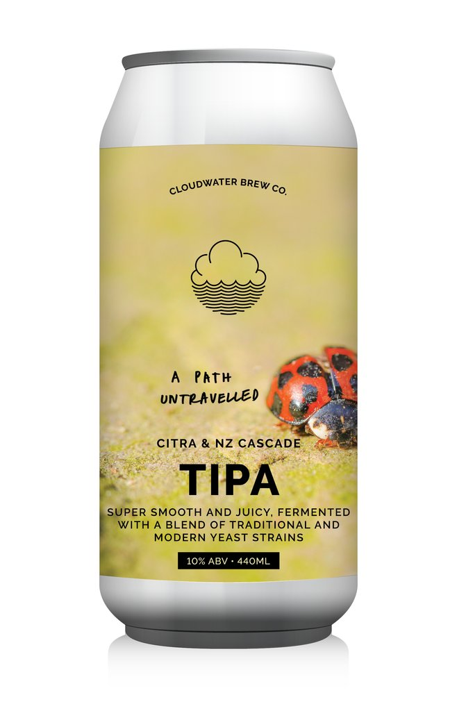 A Path Untravelled - Cloudwater - Triple IPA, 10%, 440ml Can