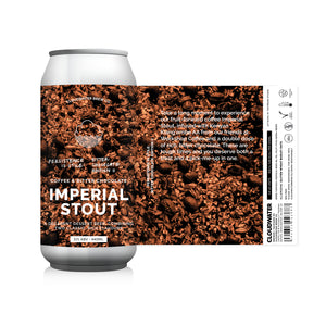 Persistence Is Utile: Bitter Chocolate Edition II - Cloudwater - Imperial Stout w/ Cacao & Coffee, 12%, 440ml Can