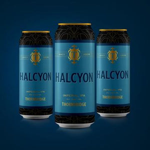 Halcyon - Thornbridge Brewery - Imperial IPA, 7.4%, 440ml Can