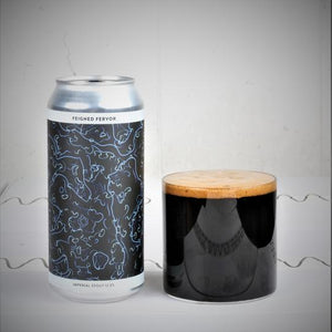 Feigned Fervor - Gamma Brewing Co - Almond & Vanilla Imperial Stout, 12%, 440ml