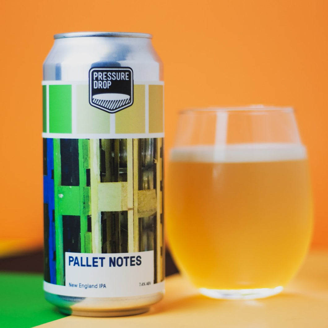 Pallet Notes - Pressure Drop - New England IPA, 7.4%, 440ml Can