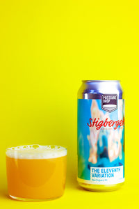 The Eleventh Variation - Pressure Drop X Stigbergets - New England IPA, 7.4%, 440ml Can