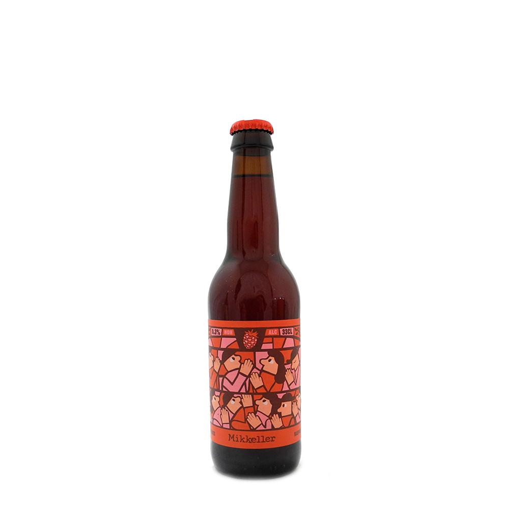 Limbo Series Raspberry - Mikkeller - Low Alcohol Flemish Primitive with Raspberry, 0.3%, 330ml Bottle