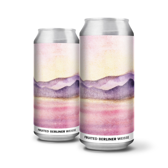 Mistvale - Alefarm - Berliner Weisse with Raspberry, Acai, Blackberry & Lemon, 4.5%, 440ml Can