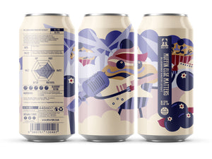 Muffin Else Matters - Brew York - Imperial Blueberry Pastry Stout, 8.5%, 440ml Can