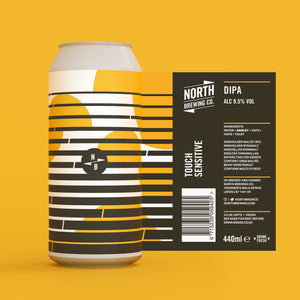 Touch Sensitive - North Brewing Co - DIPA, 8.5%, 440ml Can