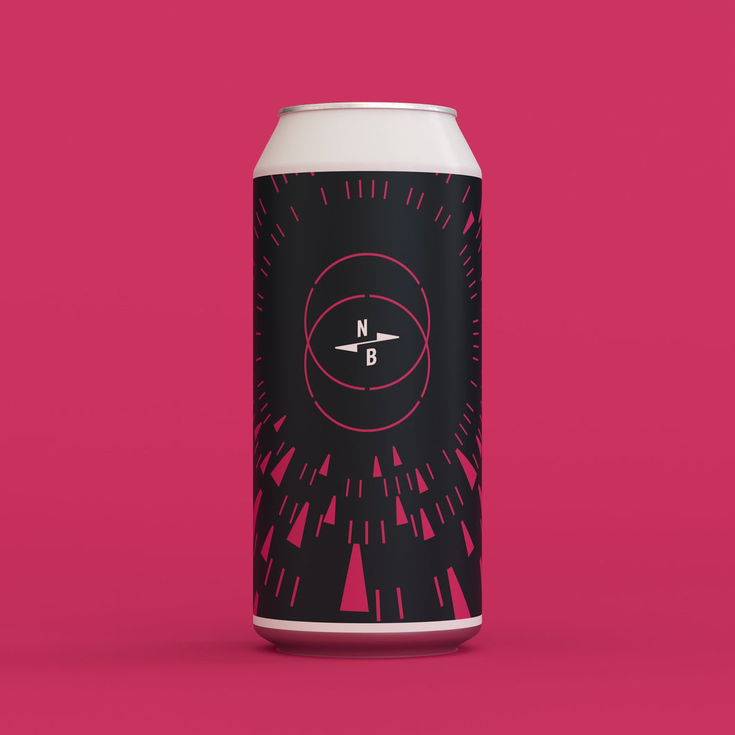 Triple Fruited X Rise Up Fruited Sour - North Brewing Co X Naparbier - Peach & Cherry Sour, 7%, 440ml Can