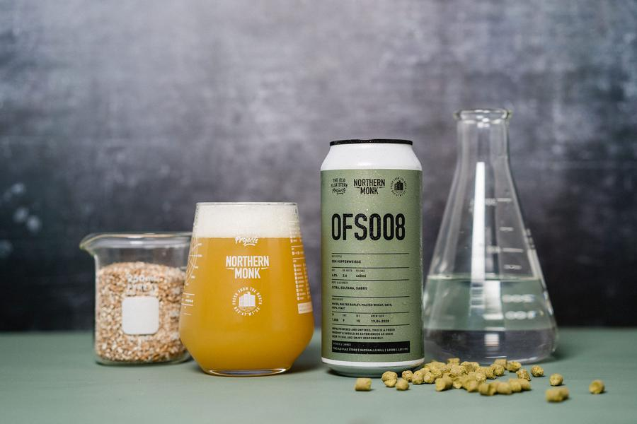 OFS008 - Northern Monk - DDH Hopfenweisse, 6%, 440ml Can