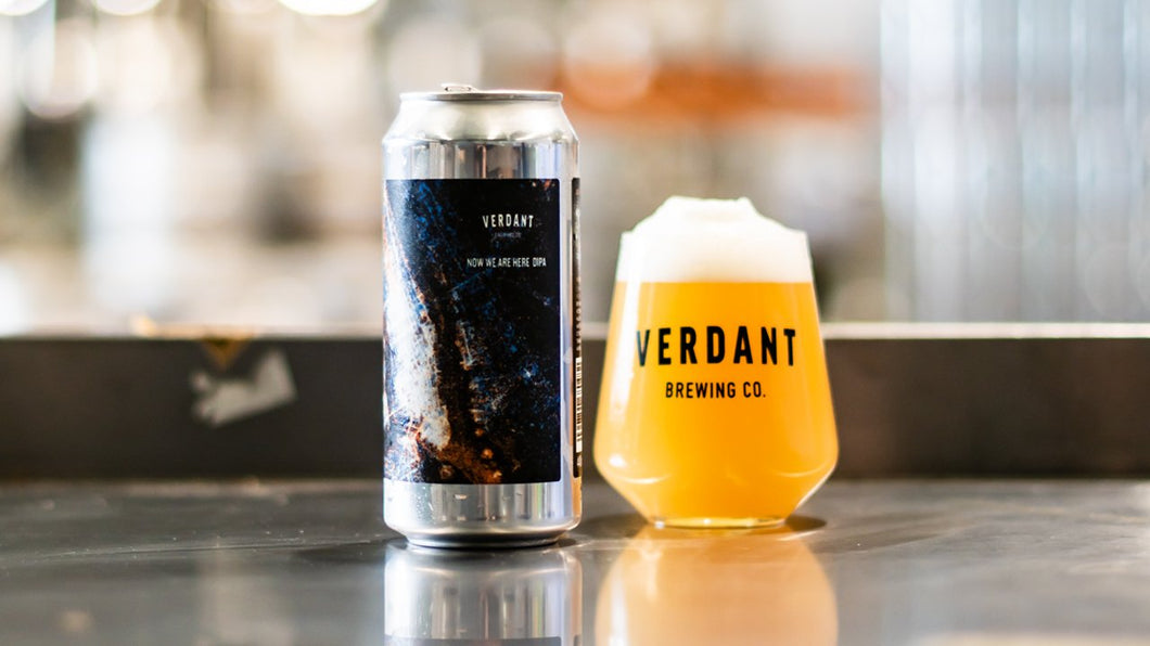 Now We Are Here - Verdant Brewing Co - DIPA, 8%, 440ml Can