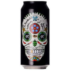 Smeerolie Mexicake - De Moersleutel - Imperial Stout with Chipotle, Vanilla, Cinnamon & Cacao, 10%, 440ml Can