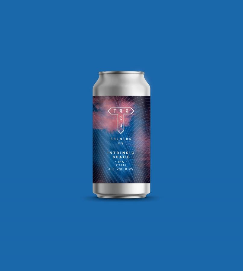 Intrinsic Space - Track Brewing Co - IPA, 6%, 440ml Can