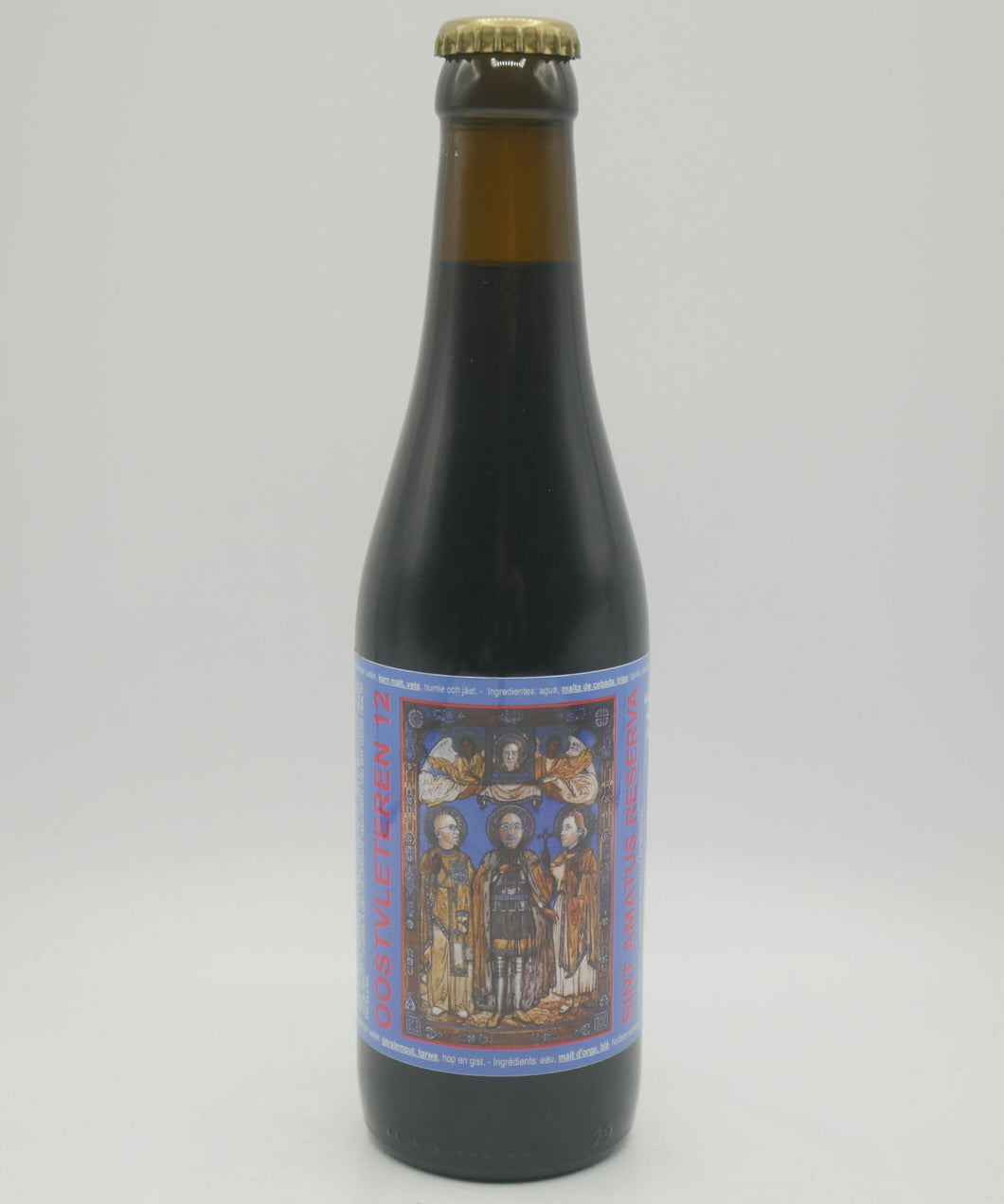 Sint Amatus Reserva - De Struise Brouwers - Woodford Reserve Barrel Aged Quadrupel, 10.5%, 330ml Bottle