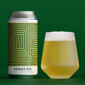 You End Up Where You Were - Duration - Table Beer, 3%, 440ml