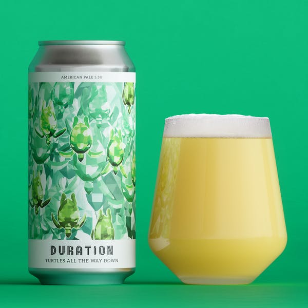 Turtles All The Way Down - Duration - American Pale Ale, 5.5%, 440ml Can