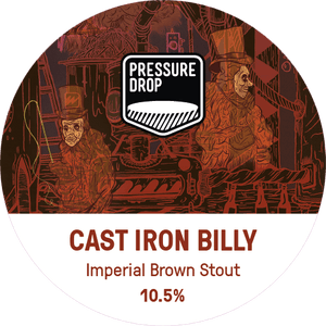 Cast Iron Billy - Pressure Drop - Imperial Brown Stout, 10.5%, 440ml
