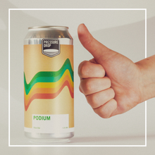 Load image into Gallery viewer, Podium - Pressure Drop - Belgian Pale, 5.2%, 440ml Can