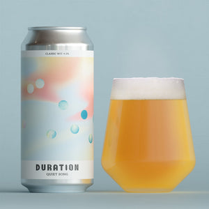 Quiet Song - Duration - Classic Wit, 4.3%, 440ml Can