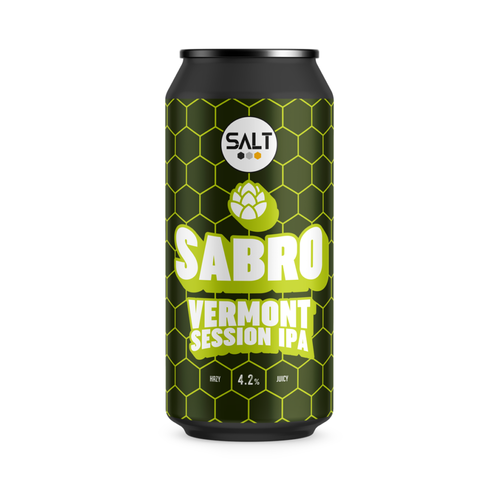 Sabro - Salt Beer Factory - Vermont Session IPA, 4.2%, 440ml Can