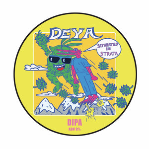 Saturated In Strata - Deya Brewing - Strata DIPA, 8%, 500ml Can