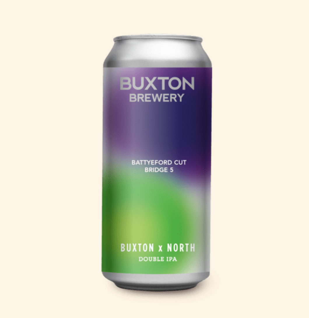 Battyford Cut Bridge 5 - Buxton X North Brew - DIPA, 8.0%, 440ml