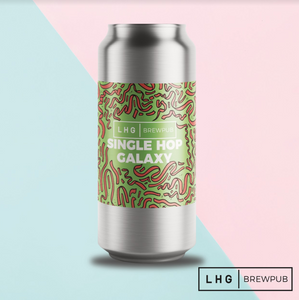 Single Hop Galaxy - Left Handed Giant Brewpub - Single Hop Galaxy Pale Ale, 4.9%, 440ml Can