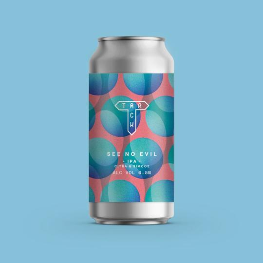 See No Evil - Track Brewing Co - IPA, 6.5%, 440ml Can