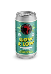 Slow & Low - Roosters Brewery - Ginger, Chilli & Lime Berliner Weisse, 3.1%, 440ml