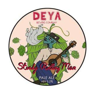 Steady Rolling Man - Deya Brewing - Pale Ale, 5.2%, 500ml Can