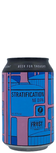 Stratification - Brouwerij Frontaal - New England DIPA, 8.5%, 330ml Can