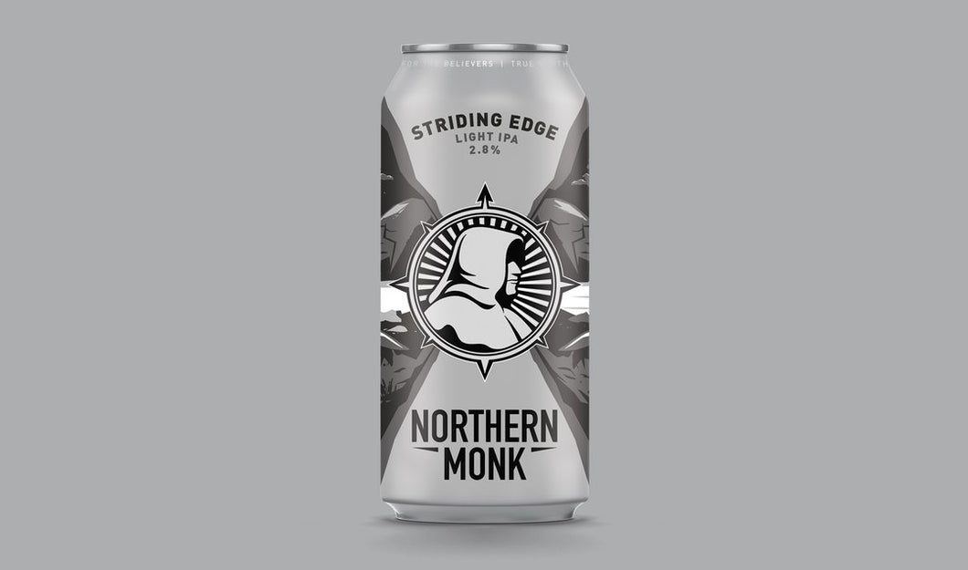 Striding Edge - Northern Monk - Light IPA, 2.8%, 440ml